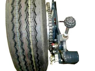 Hydraulic high-performance wheel drive